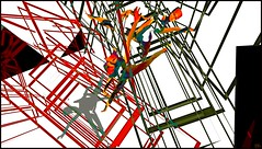 Madness / Artist : Theda Tammas (Bamboo Barnes - Artist.Com) Tags: art secondlife thedatammas virtualart digitalart photo surreal red black grey green blue white vivid installation exhibition bamboobarnes
