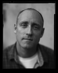 Mr. Pleasant (Zeb Andrews) Tags: portrait oregon portland 4x5 largeformat filmphotography linhoftechnikaiv bluemooncamera photographyislife atomicx new55