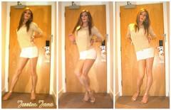 Gold Top (jessicajane9) Tags: tv cd trans lgbt tg tgirl transgender crossdressing m2f transvestite feminized