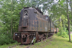 Cooperstown Junction (rchrdcnnnghm) Tags: railroad abandoned train engine amtrak dh rustyandcrusty gg1 conrail pennsylvaniarailroad penncentralrailroad delawareandhudsonrailroad ostegocountyny cooperstownjunctionny