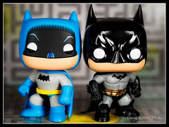 Dynamic Duo. (Puffer Photography) Tags: stilllife television studio toys dc pop videogames actionfigures batman comicbooks movies minifigs funko 2016