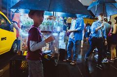 Rainy Day (mathiaswasik) Tags: nyc newyork usa manhattan rain rainy street weather children city