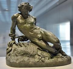 """Lens (Pas-de-Calais) - Muse du Louvre-Lens - """"Roland furieux"""" (Jehan Duseigneur) (Morio60) Tags: lens louvrelens pasdecalais 62 muse roland duseigneur"""