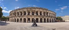Arènes de Nîmes (xsalto) Tags: arènes epoqueromaine nîmes toreador cirqueromain france