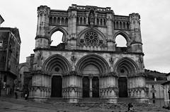 Catedral de Cuenca (Egg2704) Tags: cuenca arquitecturagótica byn bw egg2704 wewanttobefree estilogótico gótico arquitectura