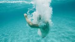 I've got something you need (Sophie Kia) Tags: actionshot jump boy retro breath hero4 gopro wideangle bubbles dreams vivid lomography lomo blue ocean sea water underwater film vintage