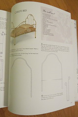 Tips and Directions for dollhouse bed (Foxy Belle) Tags: book dollhouse big miniature house 112 scale french country how tutorial