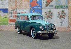 IFA F9 Kombi 1953 (2) (dougie.d) Tags: ddr gdr ifa f9 kombi estate estatecar stationwagon dkw zwickau eisenach witebox ixo 143 scale model modelcar automodel modelauto diecast