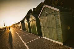 Bournemouth | UK (William Self) Tags: bournemouth england uk autumn 2016 sonya6300 unitedkingdom greatbritain seaside beachhuts huts cyclist