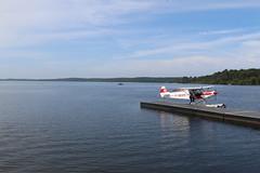 Le Lac Sud de Biscarrosse (Biscarrosse Tourisme) Tags: hydravion hydrobase latcore biscarrosse bisca biscarosse lac sud parentis navigation amrrir ponton baptme air hydraviation hydro