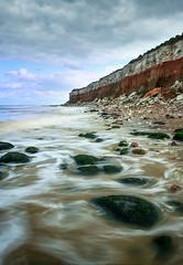 (Andy Bracey -) Tags: bracey andybracey hunstanton beach norfolk sea water clouds longexposure leefilters filters lee littlestopperndfilter nikon d3s cliff stripes strata rocks boulders landscape seascape