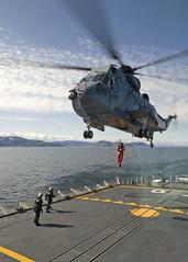 OP NANOOK (aeroman3) Tags: arctic baffinisland coast commanderacgrant editorpick09 exnanook frobisherbay helicopterhelicoptere hmcstoronto hoist opnanook opnanook09 seaking ottawa ontario canada
