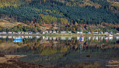 Nothing but reflections (MC Snapper78) Tags: scotland landscape nikond3300 scenery scenic holyloch firthofclyde sandbank argyllandbute dunoon reflections reflecting reflection marilynconnor