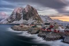 Hamnoy Sunrise (shaunyoung365) Tags: mountain mountains norway lofoten hamnøy sunrise sonya7rii