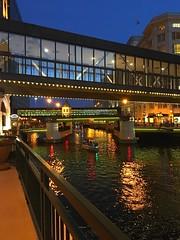 bridges, lights and the river (shreeyeh) Tags: bridges colorfullights riverwalk milwaukee wisconsin