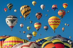 Mass Ascension, Albuquerque Balloon Fiesta, New Mexico. (pedro lastra) Tags: wow brilliant albuquerque balloon fiesta new mexico usa colors