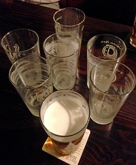 7th Heaven (RoystonVasey) Tags: apple iphone 5 beer real ale pint glass