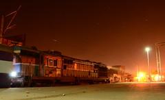 Ludhiana WDM3A 16127 (Kaushal Aditya) Tags: wdm3a ludhiana ldhwdm3a ldhwdm3a16127 khanna railways ruralindia railroad punjab gangasutlejexpress train travel nightphotography nighttrain nikond7000 trainatnight trainindia trains locos locomotive longhoodforward lights khannapunjab alco restingalco