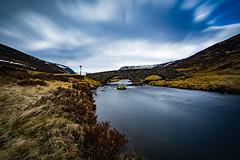 Scottish spring (Lukasz Lukomski) Tags: scotland szkocja longexposure lukaszlukomski nikond7200 sigma1020 clunie river rzeka woda water clouds chmury niebo sky heather wrzosy stream strumie