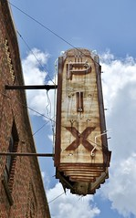 PIX Theater (Rob Sneed) Tags: usa texas centerville pixtheater sign neon vintage closed theater advertising cinematreasures pix smalltown americana texana rust highway75 cinema movietheater film movies