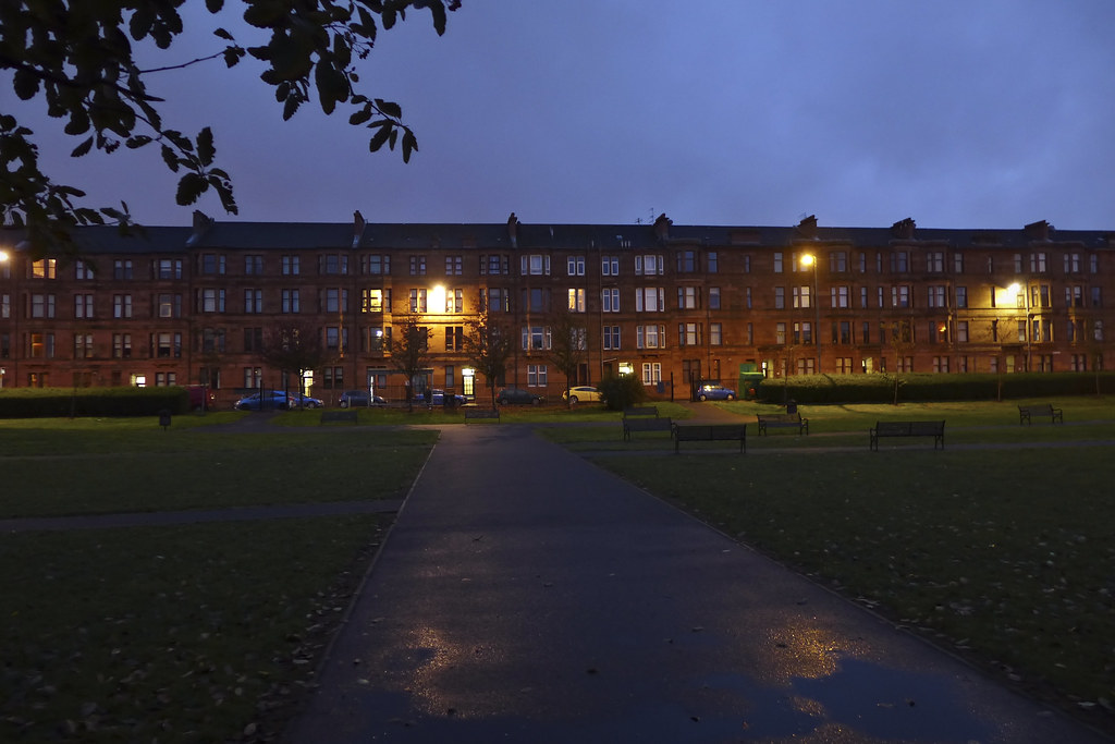 The world 39 s best photos of glasgow and tenements flickr for 18 park terrace glasgow