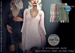Autumn Fall Sweater Dress (Insomnia Store) Tags: insomnia clothes voguefair event exclusive fitmesh autumn fall sl sweater dress knitted wool