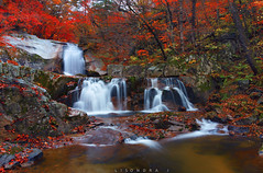 idan waterfalls or twin water (jon lisondra jr) Tags: idan bangtaesa injae waterfalls skorea