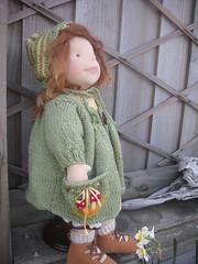 (spindlewood2013) Tags: waldorfdoll steinerdoll fabricdoll ooakdoll handmadedoll needlefelted sculpted woolhandknitted