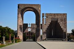 Echmiadzin, Armenia (phudd23) Tags: armenia vagharshapat etchmiadzin cathedral etchmiadzincathedral echmiadzin echmiadzincathedral church armenian orthodox arch