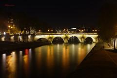 Le Pont Neuf (Kilmar2010) Tags: paris nocturna nightview reflejos reflects spiegel