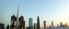Burj Khalifa and her handmaidens (oobwoodman) Tags: dubai uae skyscrapers gratteciel wolkenkratzer burjkhalifa