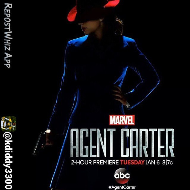 By @kdiddy3300 via @RepostWhiz app: Pretty amazing show so far! #agentcarter (#RepostWhiz app) @agent_carter @realhayleyatwell