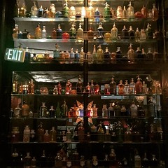 Post-Louis CK drinks were had at this cute bar with an impressive wall of booze.
