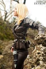 Shadows Blessing (DrosselTira) Tags: game set cosplay steel master v armor elder thief videogame cosplayer dagger thieves guild vex scrolls guildmaster skyrim