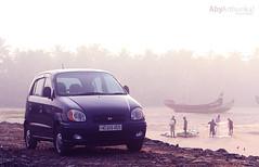 HUYNDAI (Aby Arthunkal) Tags: 2001 beach photography model automobile kerala hyundai manu aby santro arthunkal pulimuttu