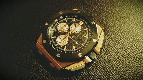 ceramic gold oak offshore royal ap mm 44 audemars piguet