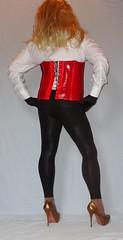 1 (Mandy Buffalo) Tags: high buffalo highheels copper heels heel corsage leggings stilettos
