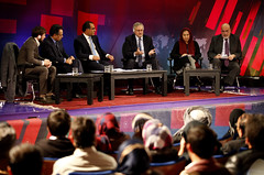 Afghan audiences from across the country debate the UNs role in country with UNAMA head (UN Assistance Mission in Afghanistan) Tags: afghanistan december open 15 nicholas un afghan kabul debates unama role uns 2014 jirga srsg haysom