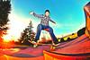 Five O backside out (Sebastian Barrios) Tags: seattle sunset luz beautiful truck lens atardecer dawn washington nikon skateboarding o five down fisheye skatepark skate skateboard trick pinos lente bellevue patineta rokinon d3100