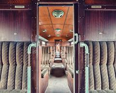 (Subversive Photography) Tags: abandoned beautiful train carriage belgium decay sony urbandecay symmetry urbanexploration disused cart ornate derelict luxury urbex 17mmtse danielbarter sonya7r