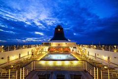 The Pool Deck (fanjw) Tags: cruise sunset pool singapore ship deck malaysia cruiseship superstar gemini malacca afterglow pooldeck malaccastraits superstargemini geminicruiseship superstargeminicruiseship