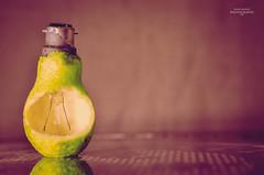 Conceptual or creative (Fahad Khalid Sadberg) Tags: new green love fruit bulb vintage 50mm nikon creative fresh guava conceptual 2014 d5100 fahadkhalidphotography