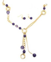 5th Avenue Gold Necklace P2010-1
