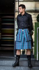 The G & V Kiltie (FotoFling Scotland) Tags: edinburgh kilt meninkilts gvhotel