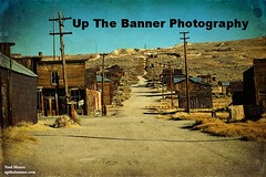 Old mining gold ghost town, great wild west of California america. Bodie national state park. (upthebanner) Tags: california park county wood old city trip travel blue ireland wild vacation sky irish house holiday west building history abandoned halloween grass barn yard vintage silver photography gold golden town wooden scary junk mine clare photographer state antique decay farm background empty telephone grunge ghost country great rustic cottage sunny landmark noel sierra historic haunted falling nostalgia moore national american rush western vehicle weathered shack bodie tradition forsaken desolate deserted miners upthebanner