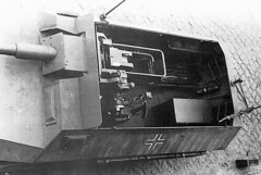 "Excellent view of a German ""Stummel 251"" this is a sdkfz 251 fitted with a short barreled 75mm gun from an early panzer IV"
