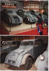 Citroen 2CV Prototypes c.1938/9 (andreboeni) Tags: auto classic cars french automobile citroen voiture retro prototype 2cv oldtimer autos ente voitures francais automobili classique retromobile deuxchevaux deuche