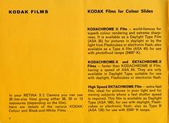 Kodak Retina S2 - Instuctions for use - Page4 (TempusVolat) Tags: kodak retina s2 instructions for use film 35mm guide vintage tempusvolat gareth tempus volat mrmorodo garethwonfor mr morodo epson perfection v200 scan scanner scanning scanned