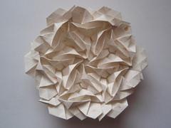 Spiral Galaxy M81 narrower version front by Peter Keller (Monika Hankova) Tags: paper origami tessellation