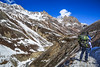 Trekking In the Himalayas, Ledar, Annapurna Circuit, Nepal (Feng Wei Photography) Tags: travel nepal mountain snow color horizontal trek landscape asia outdoor scenic hike remote hiker annapurnacircuit annapurna himalayas trekker manang gandaki annapurnahimal letdar annapurnaconservationarea ledar